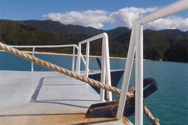 Abel Tasman accommodation, enjoy a night or two on board