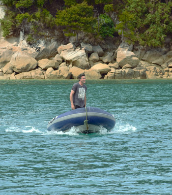 Holiday in the Abel Tasman