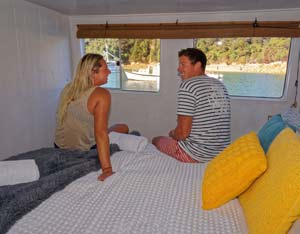 Private double room, Abel Tasman