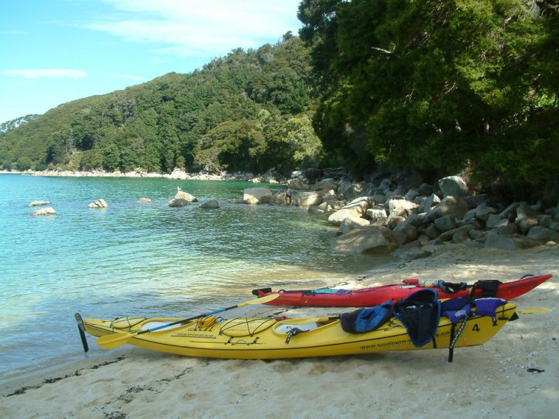 Sea kayak in New Zealand's Abel Tasman National Park